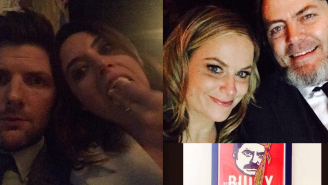 The Parks and Rec Cast Tweets Farewell…In Style!
