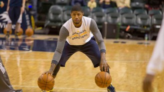 "Larry Bird Says Pacers Won't Hold Paul George Back If He's ""Ready To Play"""