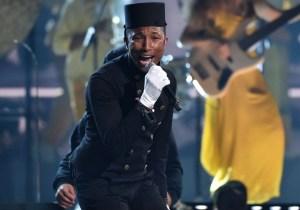 Grammys: Pharrell's 'Happy' Performance was, well, weird
