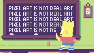 'The Simpsons' Will Actually Use That Awesome Pixel Art Couch Gag This Week