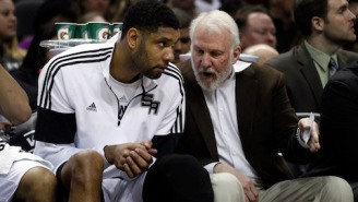 Gregg Popovich Thinks Tim Duncan Will Play In 2015-2016