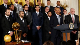 President Barack Obama Once Believed Tony Parker Was Better Than Chris Paul