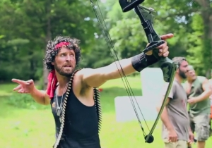 One Man's Awesome Friends Turned Him Into Rambo For An Amazing Bachelor Party