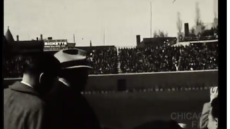 Here's Rare Footage Of Wrigley Field During The Cubs 1938 Home Opener