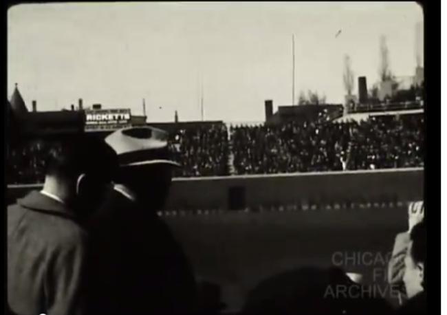 Ricketts Wrigley Field 1938