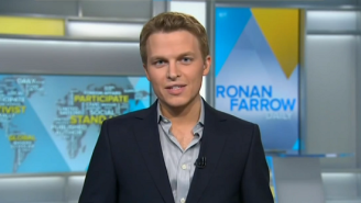 MSNBC Has Canceled 'Ronan Farrow Daily' And 'The Reid Report'