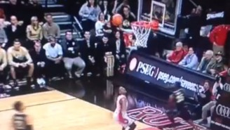 Rutgers Airballed A Layup And Yes, That's Very Bad