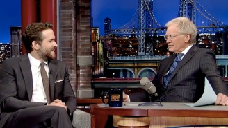 David Letterman Tried His Hardest To Get Ryan Reynolds To Reveal His Baby's Name