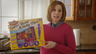 'SNL' Provided Some Hope For Women Trapped In Super Bowl Ads With The Totino's Activity Pack