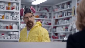 Heisenberg Lives In Bryan Cranston's Super Bowl Esurance Commerical