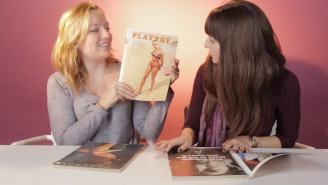 Watch As These Women Experience Playboy Magazine For The First Time