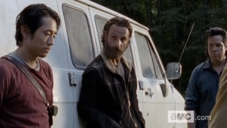 The First Two Minutes Of The 'Walking Dead' Midseason Premiere Hint At The Show's Next Destination