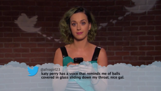 Watch Katy Perry, Drake, Ariana Grande, And Other Musicians Read Mean Tweets About Themselves On 'Kimmel'