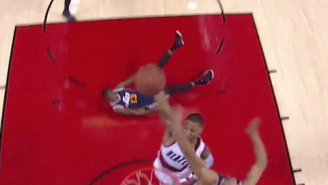 Video: Damian Lillard Puts Rudy Gobert On A Poster