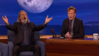Jeff Bridges Took Over The Entire 'Conan' Studio For An Epic Omming Session