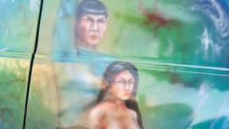 Now You Can Own This Sweet 'Star Trek' Custom Van Boldly Featuring Topless Women