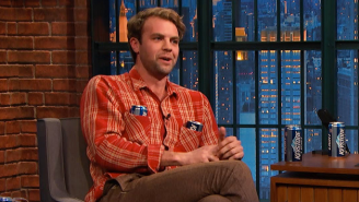 Brooks Wheelan Basically Brags About Being Fired From 'SNL' On 'Late Night With Seth Meyers'