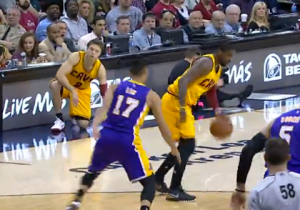 Video: Kyrie Irving Puts Jeremy Lin On Skates