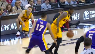 Video: Kyrie Irving Puts Jeremy Lin On Skates