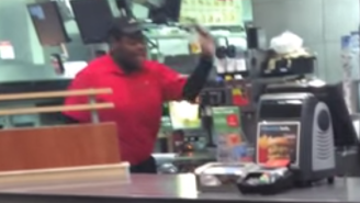 Watch This Disgruntled McDonald's Employee Go Nuts And Destroy Everything In Sight