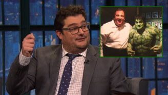 Bobby Moynihan Met Chris Christie On 'SNL' While Dressed As The Incredible Hulk