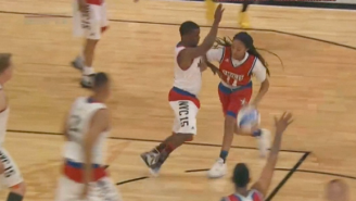 Kevin Hart Retires From NBA Celebrity Game And Asks If Mo'ne Davis Is On PEDs