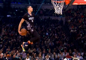 Watch Instant Star Zach LaVine Single-Handedly Bring Promise Back To The Dunk Contest