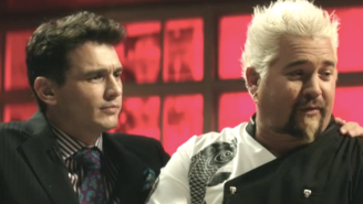 Guy Fieri Is The Key To World Peace In This Deleted Scene From 'The Interview'