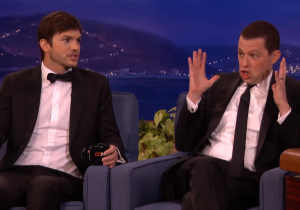 Ashton Kutcher Apparently Likes To Carry A Huge Prosthetic Penis In His Trailer