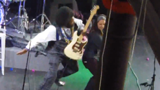 Watch Afroman Hit A Woman In The Face After She Jumps On Stage