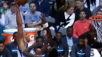Watch Richard Jefferson Posterize Michael Kidd-Gilchrist Like It's 2002 [It Didn't Count]