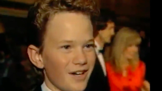 Watch A 14-Year Old Neil Patrick Harris At The 1989 Golden Globes