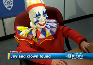 After Going Missing For 10 Years, This Creepy Clown Was Discovered In A Convicted Sex Offender's Basement