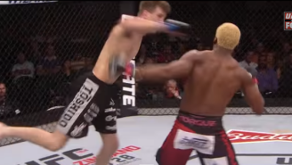 Watch This Amazing Superman Knockout Punch At UFC Fight Night