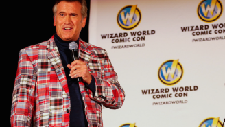 Here's What Bruce Campbell Looks Like As A Game Show Host In 'Last Fan Standing'