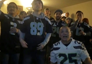 Nobody Has Ever Been More Devastated Than These Seahawks Fans Screaming 'Beast Mode'
