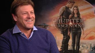 'Jupiter Ascending' star Sean Bean on life as a human spoiler
