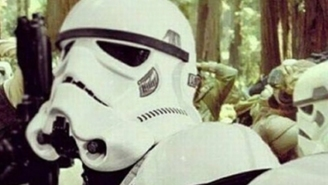 293 days until Star Wars: Not even the Empire can resist the power of selfies