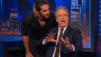 Jon Stewart Will Host Sunday's WWE SummerSlam