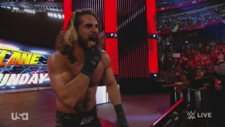 Reminder: WWE Champion Seth Rollins Once Moonsaulted Off A Fan