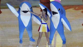 50 Questions About The Dancing Sharks From Katy Perry's Halftime Show