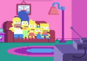 Someone Turned The 'Simpsons' Intro Into Pixel Art, And The Result Is Tremendous