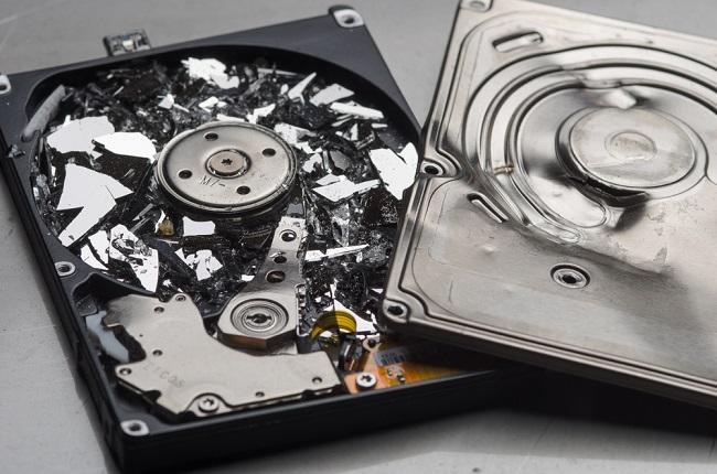 smashed-hard-drive_shutterstock