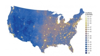 Thanks To This New U.S. Map, You Can Pick Where You Want To Live Based On Noise