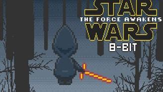 301 days until Star Wars: Nostalgia-tastic 8-bit remake of 'The Force Awakens' trailer