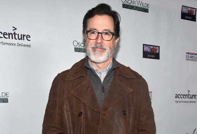 Stephen Colbert has a majestic new beard