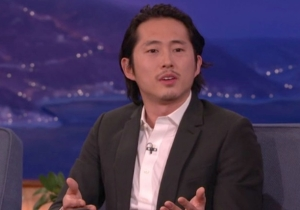 Steven Yeun Has No Love For 'Walking Dead' Nit-Pickers