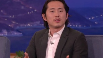 Steven Yeun Has No Love For 'Walking Dead' Nit-Pickers