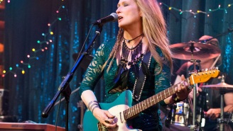 First image of Meryl Streep rocking out in 'Ricki and the Flash' arrives