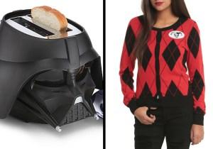Shut up and take my money! – Darth Vader, Harley Quinn, and more